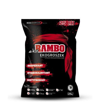 Ekogroszek eko Rambo 1000 kg workowany 25 MJ/kg / Medex premium