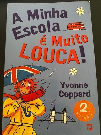 Livro juvenil: A minha escola é muito louca