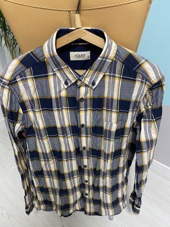 Крутая клетчатая рубашка фирмы COLIN'S