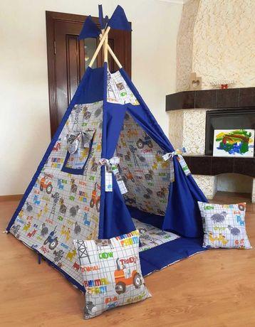 Палатка вигвам шатер детский, игровой домик