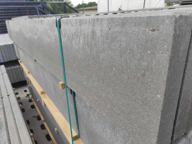 Podmurówka gładka DESKA 250x25x5, ogrodzenia panelowe, montaż