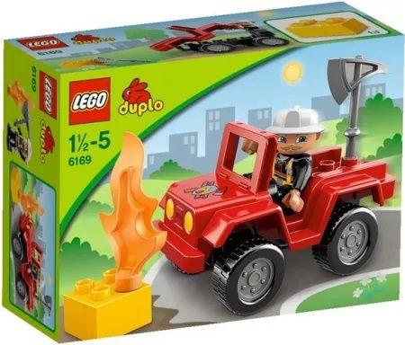 Dowódca Straży Pożarnej Lego Duplo 6169