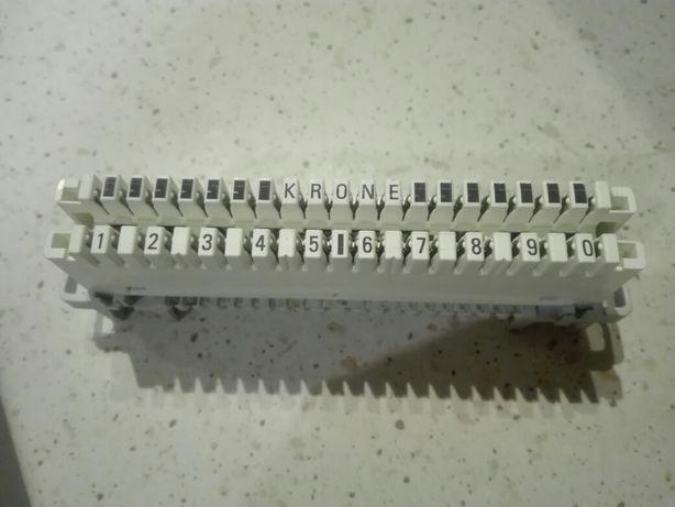 Łączówka LSA Krone 10par rozłączna oryginalna nowa