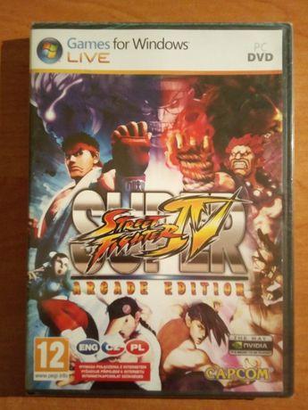 Super Street Fighter IV Arcade Edition PC - UNIKAT - NOWA FOLIA