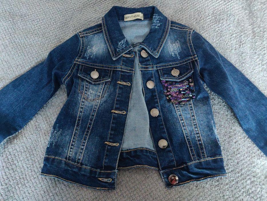 Kurtka jeansowa 104 Ostrowiec Świętokrzyski - image 1