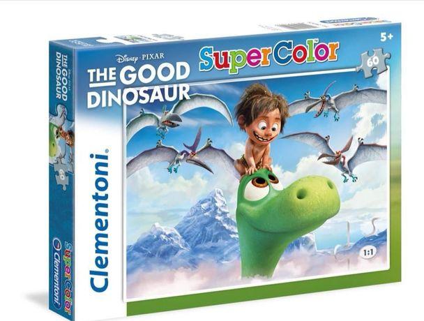 NOWE puzzle Disney 104 el. Dobry Dinozaur Clementoni