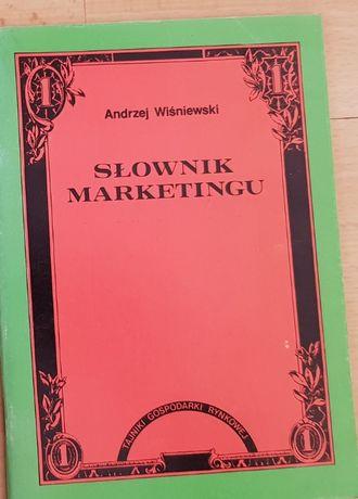Słownik marketingu, Andrzej Wiśniewski , poradnik, biznes