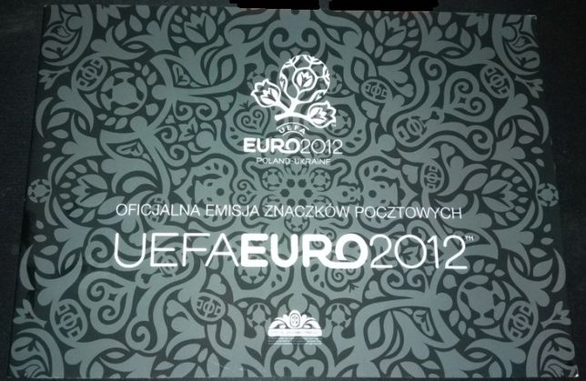 FOLDER - UEFA EURO 2012- Arkusiki ,blok.