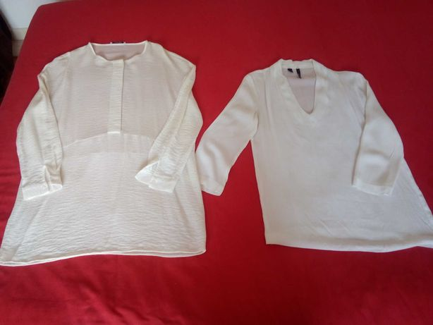 Duas túnicas da Mango