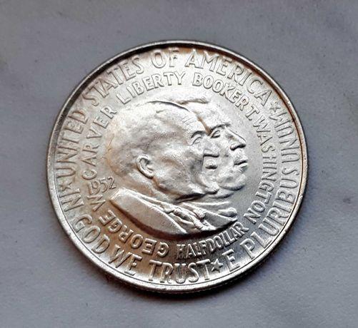 228) USA srebro - 1/2 Dollar - 1952 r.