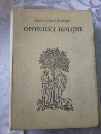 Opowieści Biblijne, Warszawa 1978, Iskry, Zenon Kosidowski