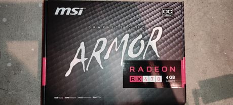 RX 470 MSI Armor 4gb DDR5 AMD