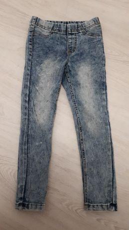 Spodnie rurki dla dziewczynki roz. 116