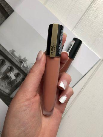 Матовая помада-тинт для губ L'Oreal Paris Rouge Signature