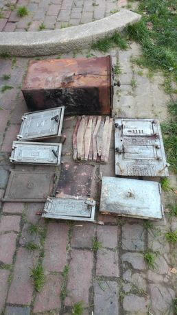 Stare drzwiczki,ruszty do pieca
