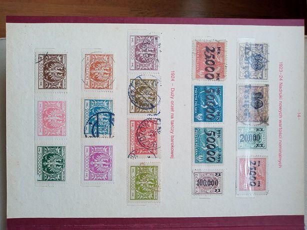 Stare znaczki pocztowe - Polska