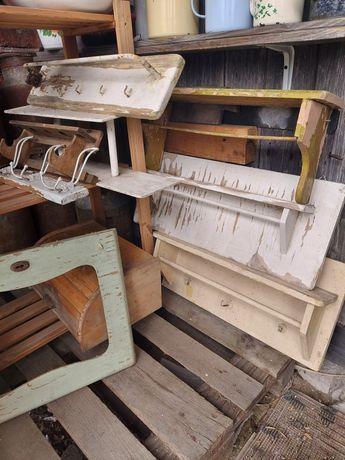 Stare półki kuchenne rzeczy