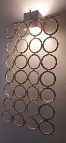 Cabides multiusos/ porta-lenços/ cintos / bijuteria- 56 argolas