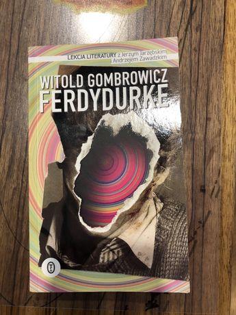 Ferdydurke Witold Gombrowicz