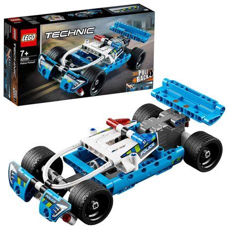 LEGO Technic Policyjny pościg 42091 zestaw NOWY !