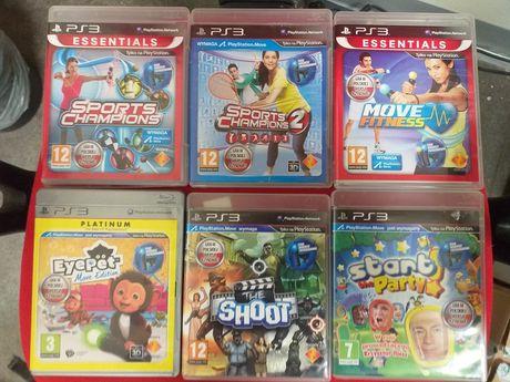 Zestaw gier move na PS3