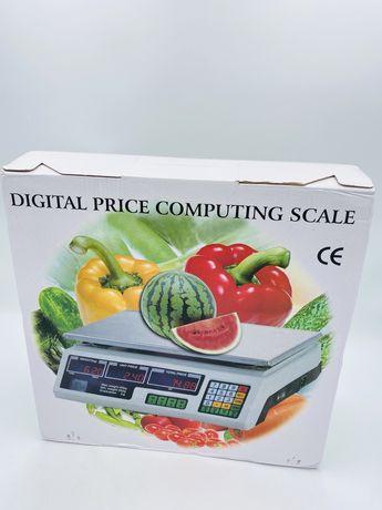 Waga sklepowa targowa elektroniczna do 40kg Rynkowa