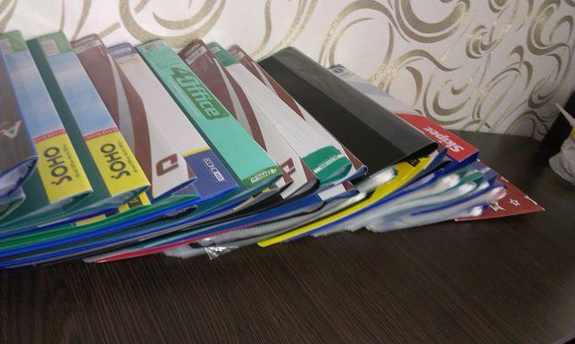 Папки канцелярські, папка для файлів, папка для файлов