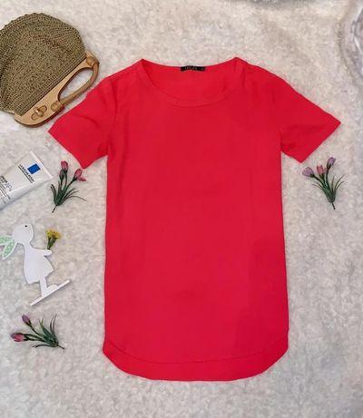 Красная, розовая,шифоновая футболка, блузка Incity, р S