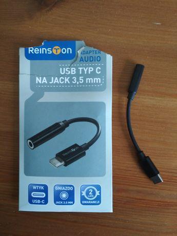 Przejściówka adapter USB typ C na JACK 3,5mm