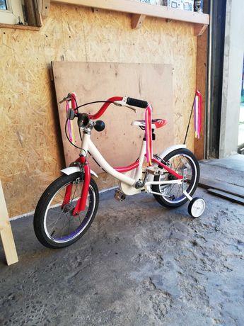 "Rowerek dziecięcy 16"" cali SUPER !!!"