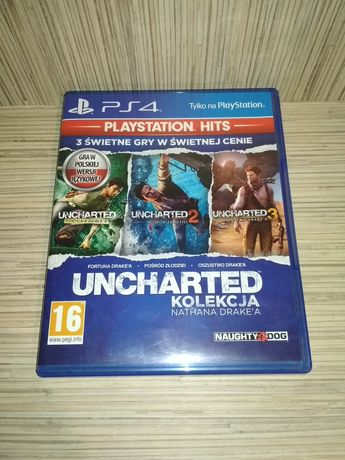 [Tomsi.pl] Uncharted Kolekcja Nathana Drakea PL PS4 PlayStation 4