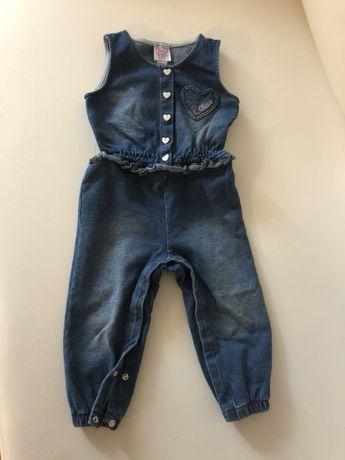 Комбинезон chicco джинсовый