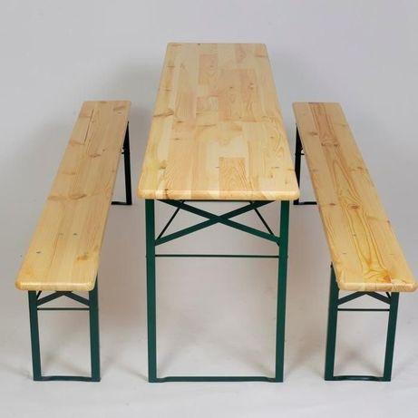 Wynajem ławo-stół , ławo stoły, komplet piwny, komplety Biesiadny