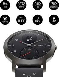Withings Nokia Steel HR Sport Watch 40mm