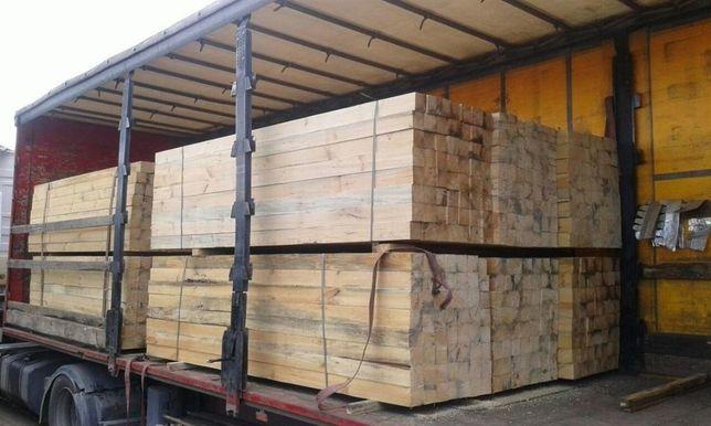 Лесоматериалы, необрезная доска для мебельных фабрик, 42мм.