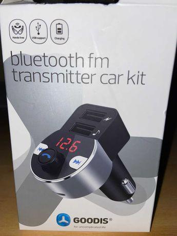 kit Automóvel de Transmissor FM via Bluetooth