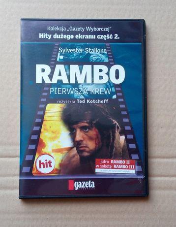 Rambo. Pierwsza krew film na dvd