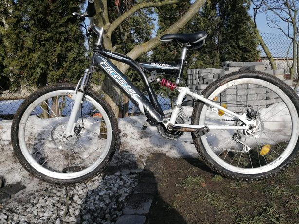 Rower górski gotowy do jazdy