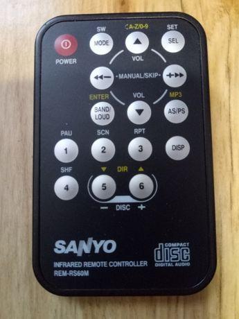 Пульт автомагнитолы Sanyo.
