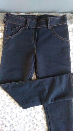 Tregginsy jeansowe 110/116
