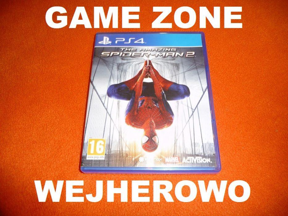 The Amazing Spider-Man PS4 + Slim + Pro = PŁYTA Wejherowo Wejherowo - image 1
