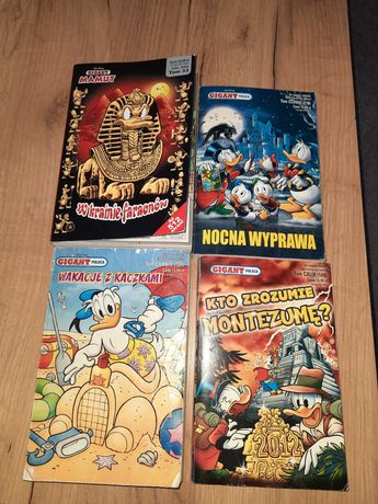 Zestaw komiksów Kaczor Donald