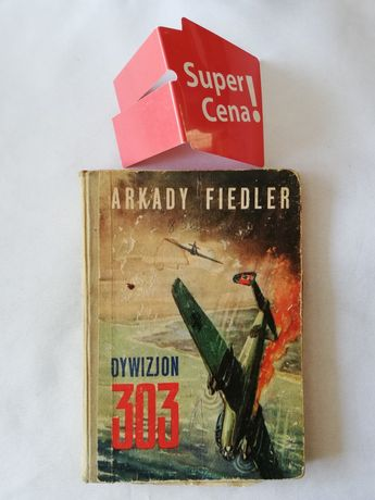 "książka ""dywizjon 303"" Arkady Fiedler"