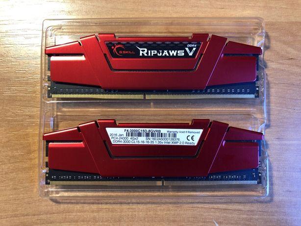 Pamięć RAM G.Skill Ripjaws V 8GB 2x4GB CL15 3000 Mhz