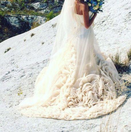 Ексклюзивна весільна сукня, свадебное платье, весільне плаття