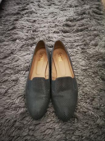 Skorzane buty 41