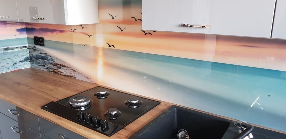 Panele szklane do kuchni szkło laminowane hartowane Olkusz - image 1