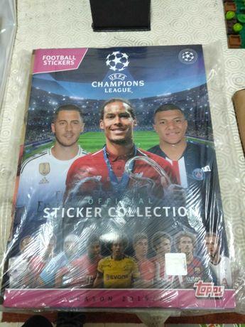 Caderneta Champions 2019/20completa