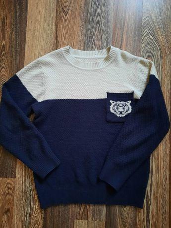 Стильная кофта реглан свитер на мальчика