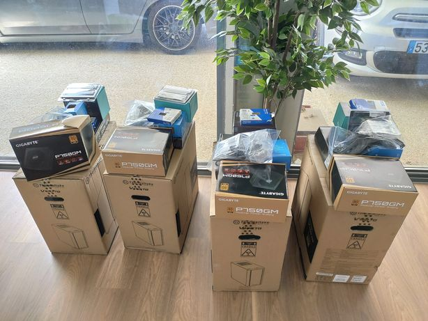 PC Gaming 11400 6c/12t, B560 Pro, 16GB RGB, NVME500, Fonte Gold - NOVO